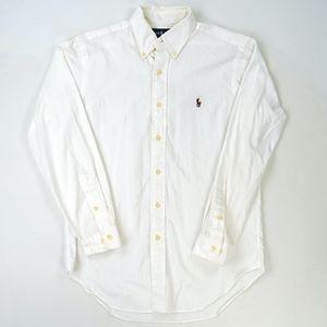 Polo Ralph Lauren Long Sleeve Shirt Oxford Button